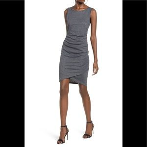 Leith Ruched Body-Con Tank Dress NWOT